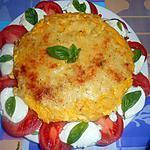 recette FLAN  DI  CAVALFIORE (CHOU FLEUR)  AUX COULEURS ITALIENNES