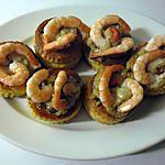 recette Bouchées de la mer