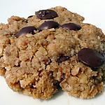 recette Délicieux cookies chocolat noisettes