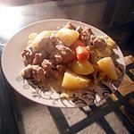 recette Porc en sauce et ses legumes