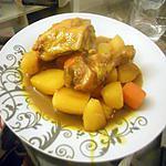 recette Tajine de poulet a la cocotte