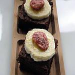 recette brownies banane-fraise
