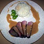 recette Magret de canard et sa sauce crémeuse