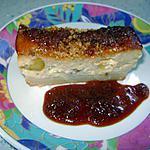 recette clafoutis aux mirabelles et son caramel sablé