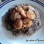 recette Crevette caramélisé aux sésame