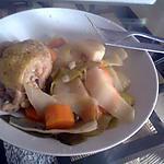 recette Poulet et légumes