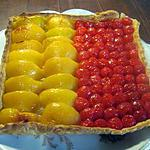 Tarte aux  2 fruits.
