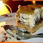 recette Mon cheesecake chocolat blanc nutella
