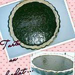 recette LA tarte au chocolat ,coco et amande....