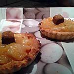 recette Tartelettes a la compotee de pommes