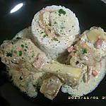 pilons de poulet à la crème