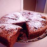 Gâteau de Savoie avec chocolat