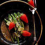 recette Salade Manon et sa belle fraise