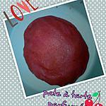 recette pate brisée parfumée (et colorée :-) ) pour tarte aux fruits rouge!