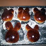 recette Brioche lapin