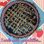 recette Taarte aux myrtilles ( plus simple, y a pas!)