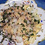 Salade de topinambours tiède