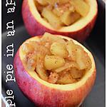 recette Tarte aux pommes dans une pomme