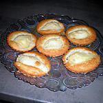 recette tartelette poires-amandes