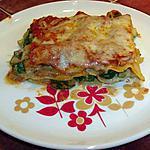 recette lasagnes aux courgettes ,sauce au chèvre et tomates basilic