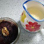 recette moelleux au chocolat et coeur blanc au micro onde