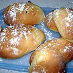 recette petits pains au lait et aux raisins