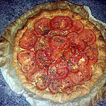 tarte à la tomate et herbes aromatiques