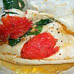 recette Filet de plie en papilotte