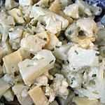 recette Salade de chou-fleur à l'ail