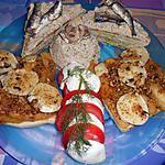 recette DINER  AVEC TOAST : 2) POMMES  POELEES CHEVRE