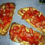 recette bruschetta tomate express