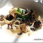 recette fricassé d'escargots aux cèpes