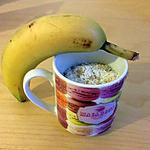 recette Mug cake banane coco