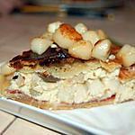 recette Tarte pétoncles, champignons, jambon de parme
