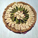 recette Tarte aux pommes et aux kiwis