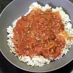recette riz à la sauce tomate