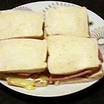 recette sandwich pain de mie façon hot dog au camembert