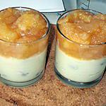 recette Petits pots de semoule aux pommes
