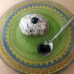 recette Boule de neige coco + mûre