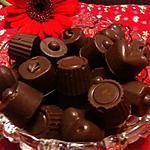 Bonbons pralinés feuilletés