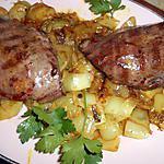 recette Tranche de coeur de veau endives au curry