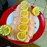 recette Filet de saumon poché et sa sauce hollandaise