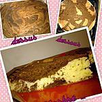 recette Gateau au yaourt ( Felder ) Transformé en marbré.