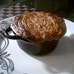 recette Cassolette de fondu de poireaux au saumon fumé