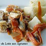 recette Poisson aux agrumes
