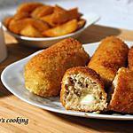 recette Croquettes de poulet au fromage fondu