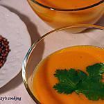 recette Velouté de carottes à l'orange & aux épices