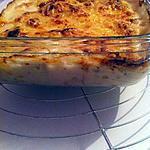 recette Gratin Saumon crevettes