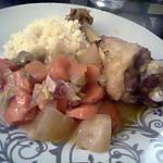 recette Manchons de canard aux légumes