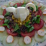 recette Salade duo de fraicheur